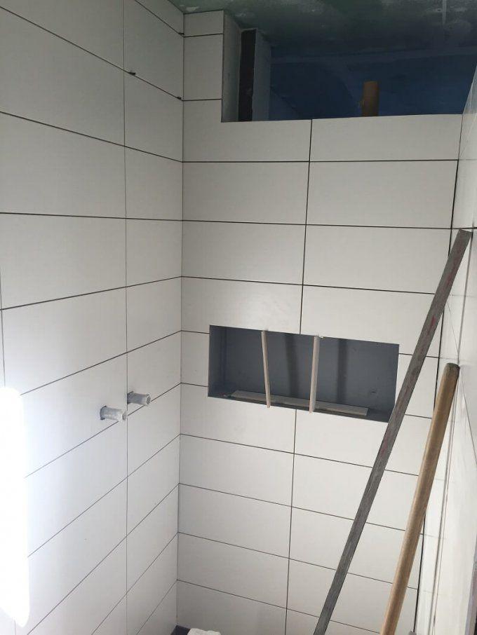 Duschablage  Unser Ablagefach In Der Gemauerten Dusche von Ablage In Dusche Einbauen Bild