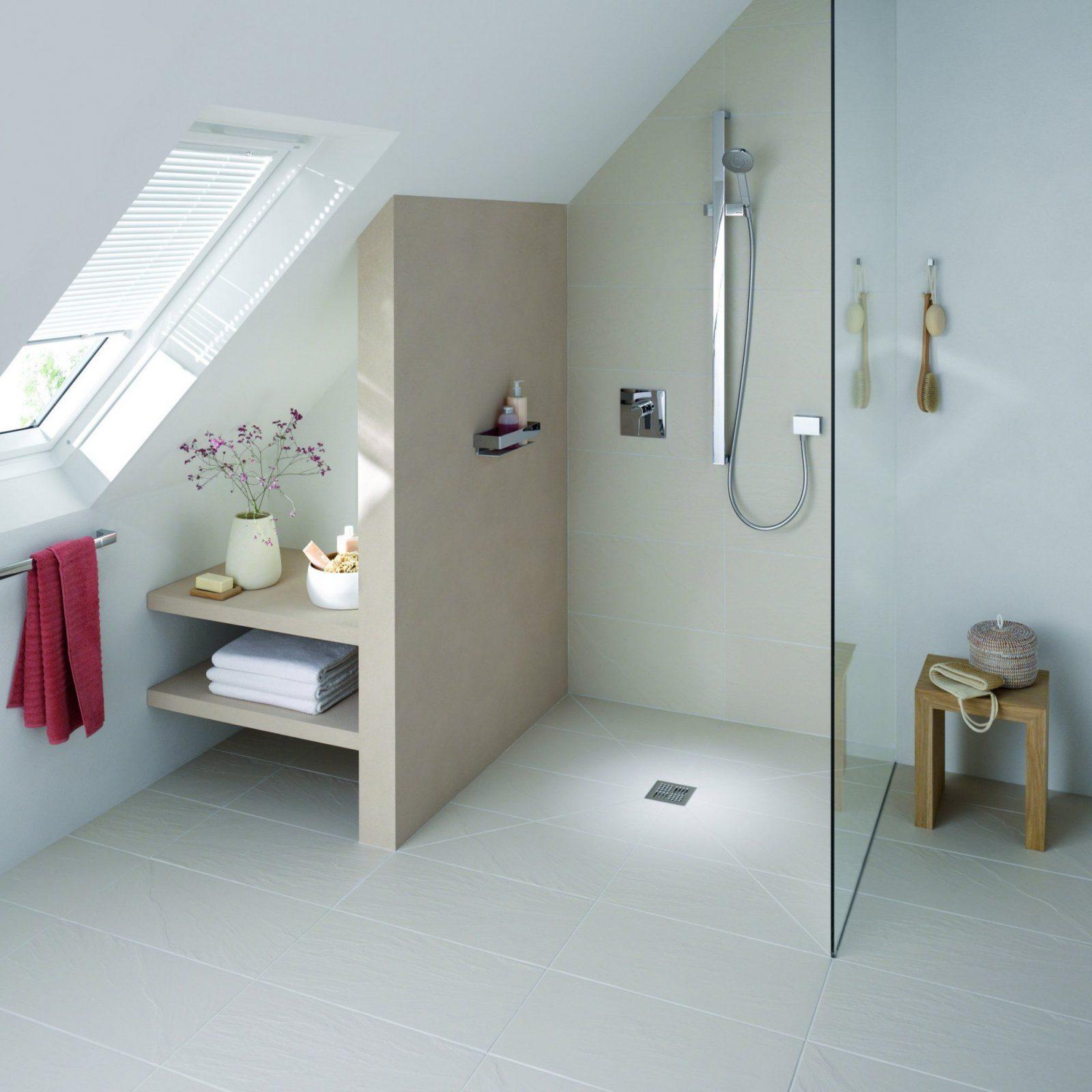 Faszinierend Dusche In Dachschräge Beste Wahl Unter Der Dachschräge Projekt Dachboden Inspiration Von
