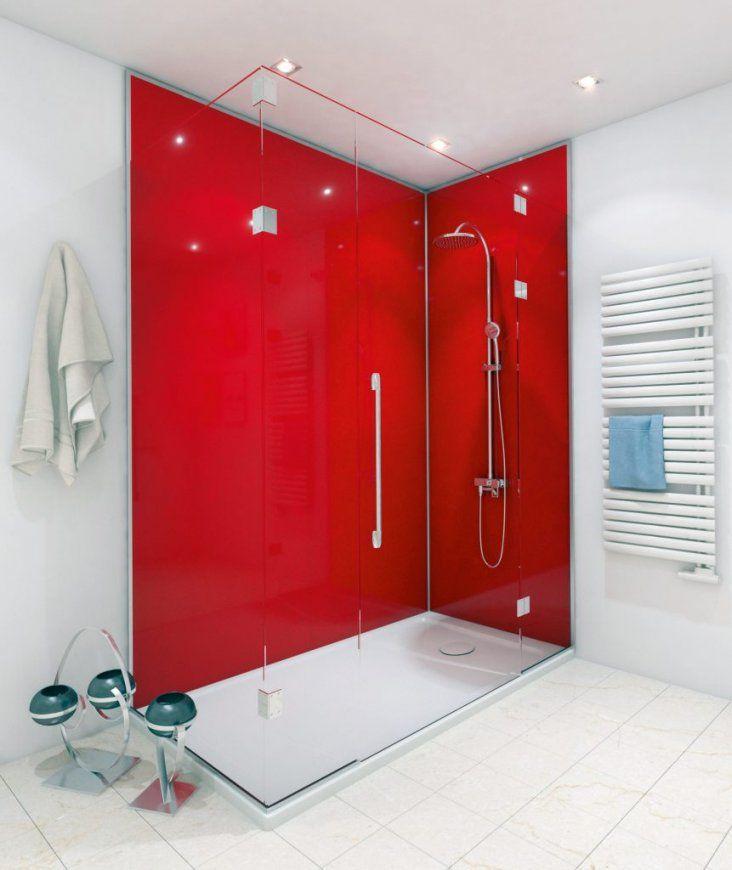 Duschen Geht Ohne Fliesen  Hwz von Wandverkleidung Dusche Ohne Fliesen Bild