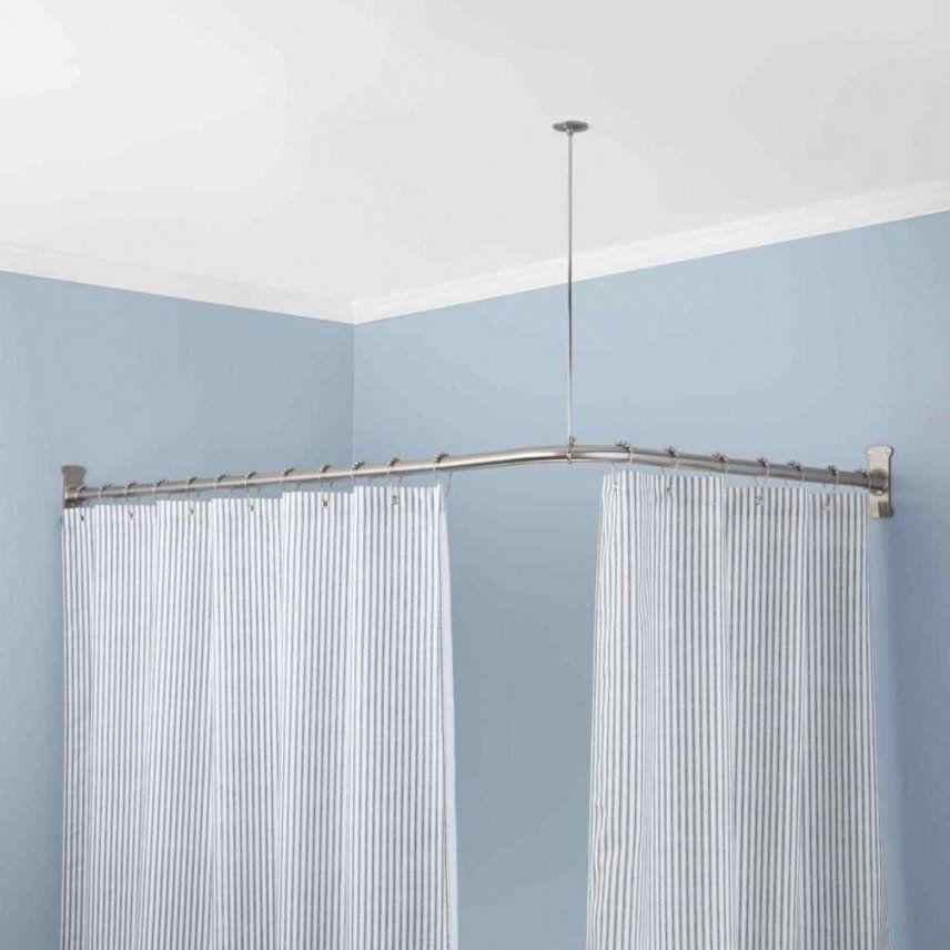 Duschstange Für Badewanne Ohne Bohren  Haus Design Ideen von Duschvorhangstange Badewanne Ohne Bohren Bild