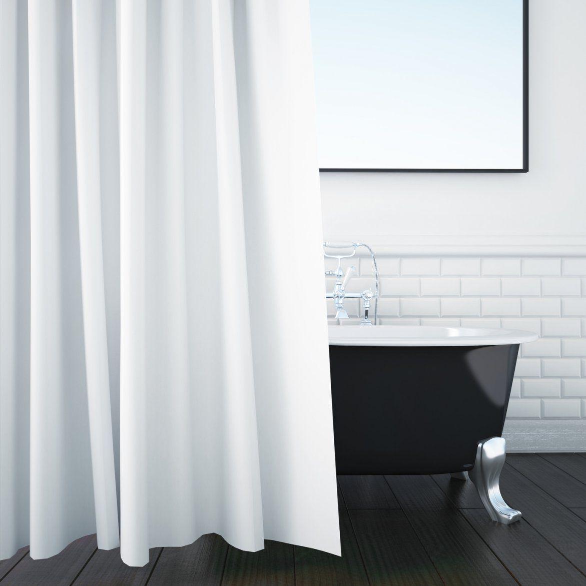 Duschvorhang Reinigen  4 Tipps  Haushaltstipps von Gardinen Waschen Bei Wieviel Grad Photo