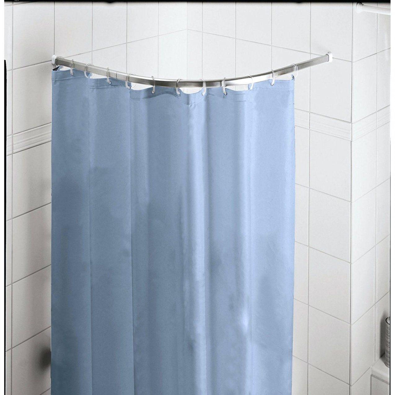 Duschvorhang Stange Bad Und Baden Badewanne L Form von Duschvorhang Mit Stange Für Badewanne Photo