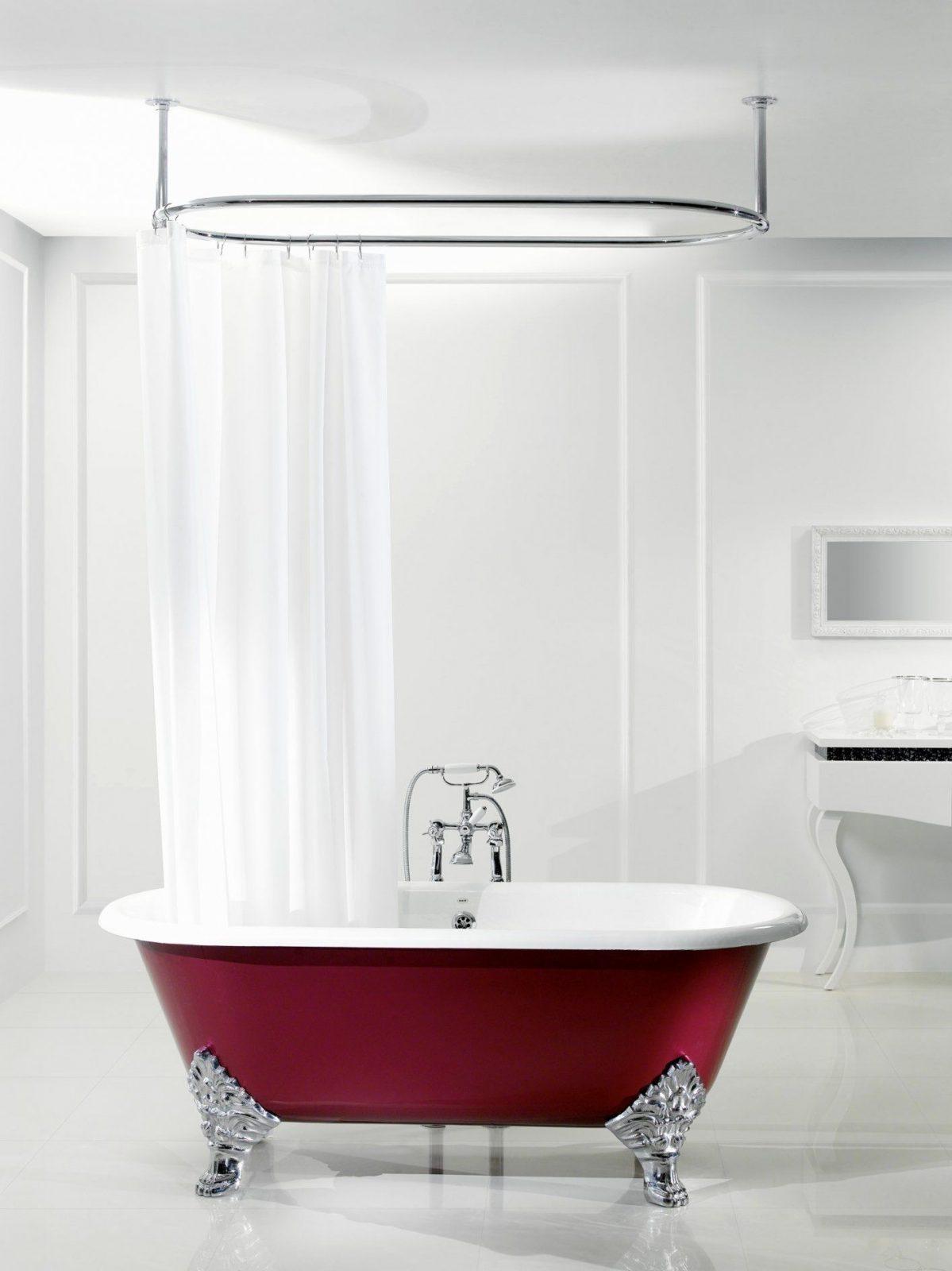 Duschvorhangstange Badewanne U Form Stilvolle Badewanne von Duschvorhangstange Badewanne U Form Photo