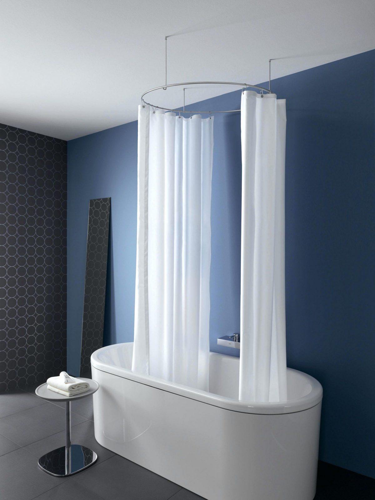 eck duschvorhang duschvorhangstange badewanne l form ikea obi von