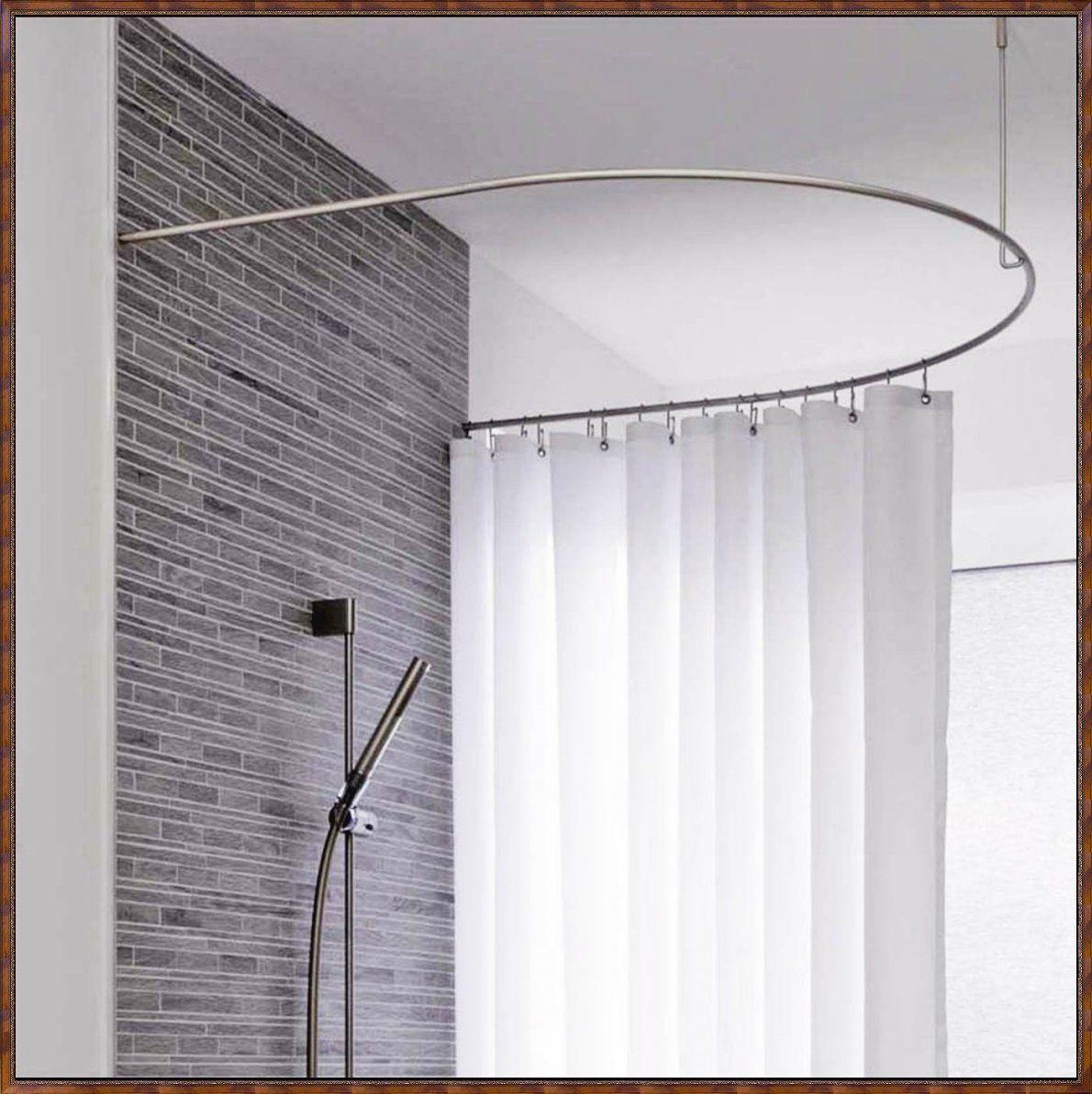 Duschvorhangstange Uform  Die Schönsten Einrichtungsideen von Duschvorhangstange L Form Badewanne Photo