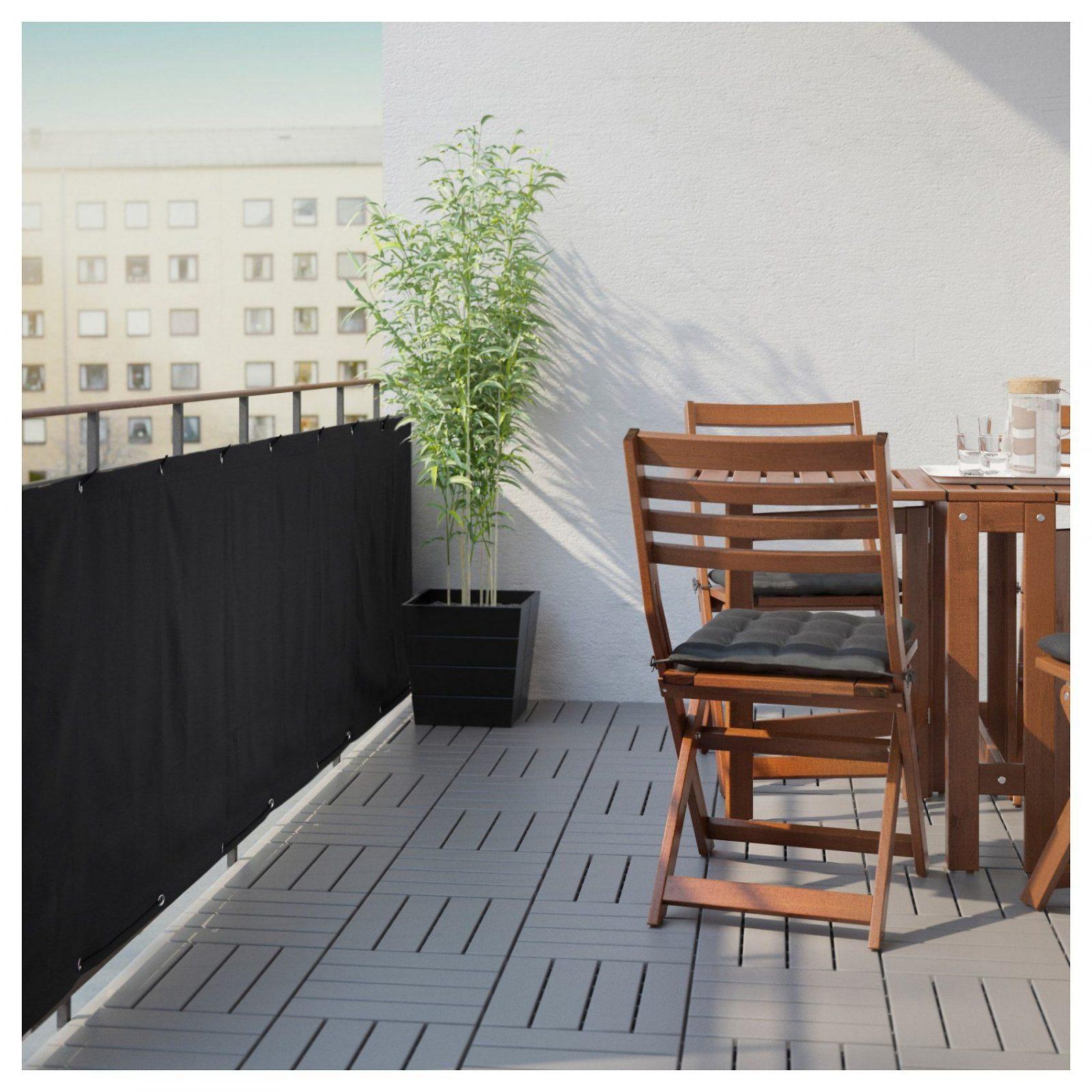 Dyning Sichtschutzbalkon  Weiß  Ikea von Sichtschutz Für Balkon Ikea Bild