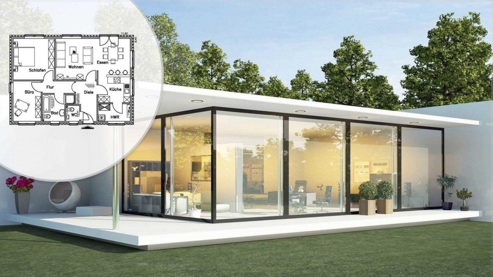 ᐅ Singlehaus Bauen Häuser Anbieter & Preise Vergleichen von Kleines Fertighaus 2 Personen Photo
