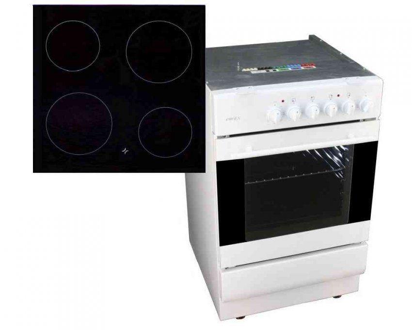 ᐅ Unterbauherd Emax Uev 500 + Crs 5001 ↔ 50 Cm → Kochtechnik von Elektroherd 50 Cm Breit Bild