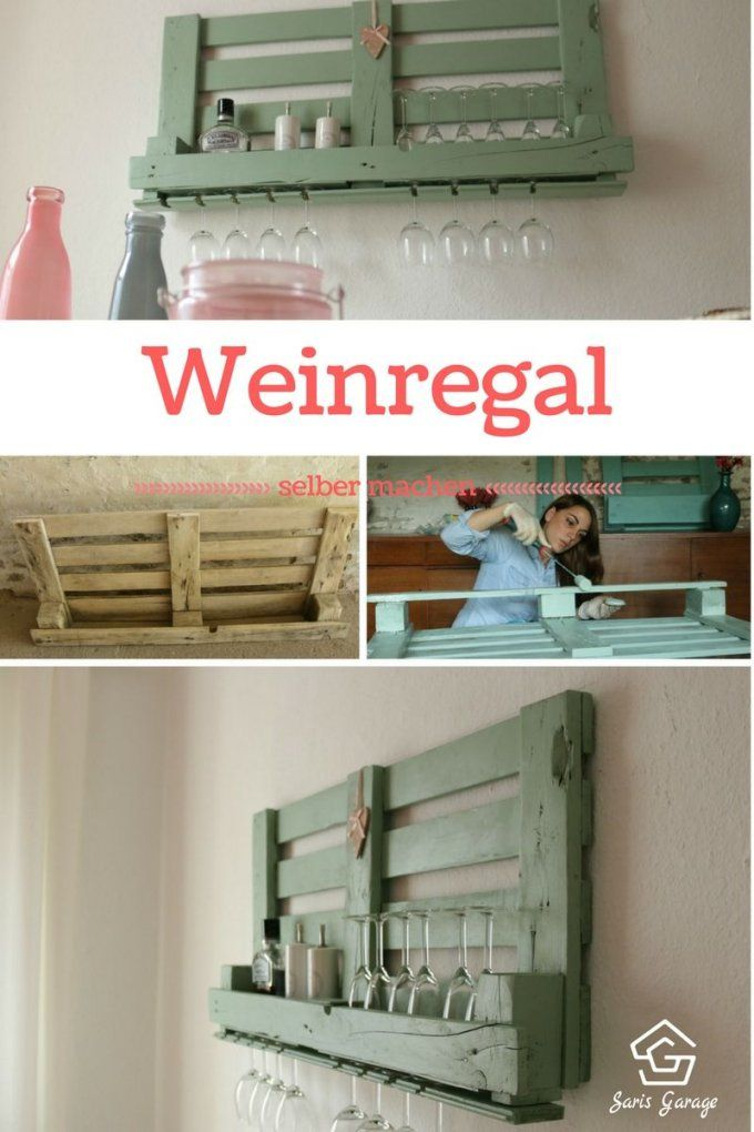 ᐅ Weinregal Aus Paletten Selber Bauen & Shop Angebote  Weinregal von Palettenregal Selber Bauen Anleitung Photo