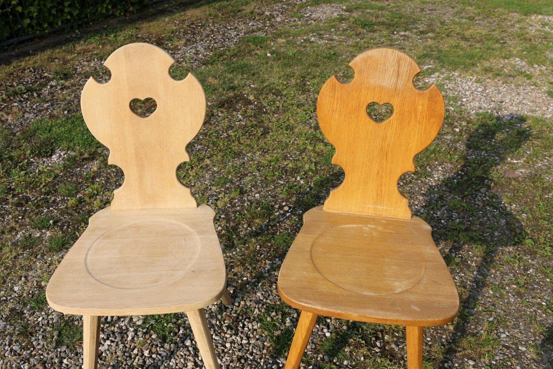 ᐅ Whitewash  Stühle Mit White Wash Technik Behandeln  Tipps von Stühle Shabby Chic Selber Machen Photo