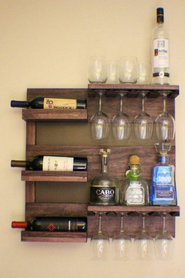 Weinregal Selber Bauen Und Die Weinflaschen Richtig Lagern Bar Von Bar  Regal Selber Bauen Bild