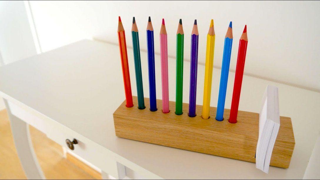 ✅ Wood Diy Schreibtisch Organizer Selber Machen  Tolle von Schreibtisch Organizer Selber Machen Bild
