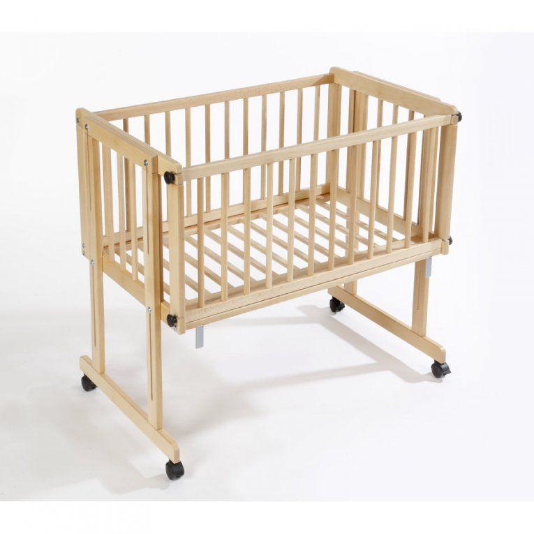 Easy Baby Wiege Und Beistellbett Natur Dream And Drive  Babymarkt von Matratze Babywiege 40 X 90 Bild