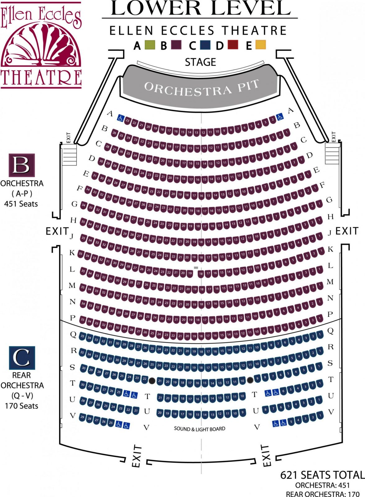 Eccles Theater Seating Chart Inspirational Chart Lyric Opera House von Lyric Opera Seating Chart Bild