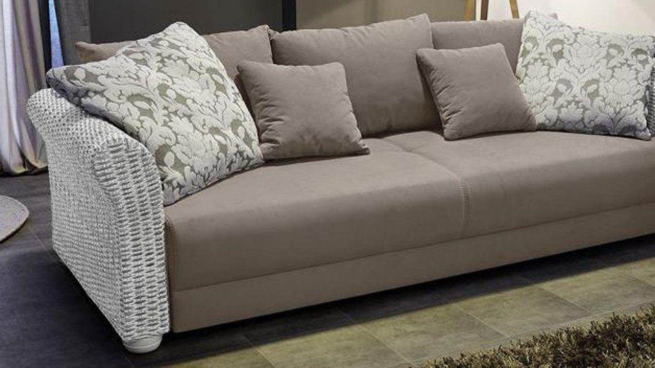 eckcouch landhausstil rattan von rattan couch mit. Black Bedroom Furniture Sets. Home Design Ideas