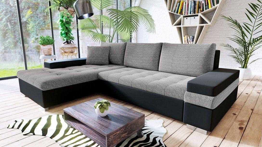 Ecksofa Kilian Mini Mit Bettkasten Und Schlaffunktion  Xmoebel24 von Couch Mit Bettkasten Und Schlaffunktion Bild