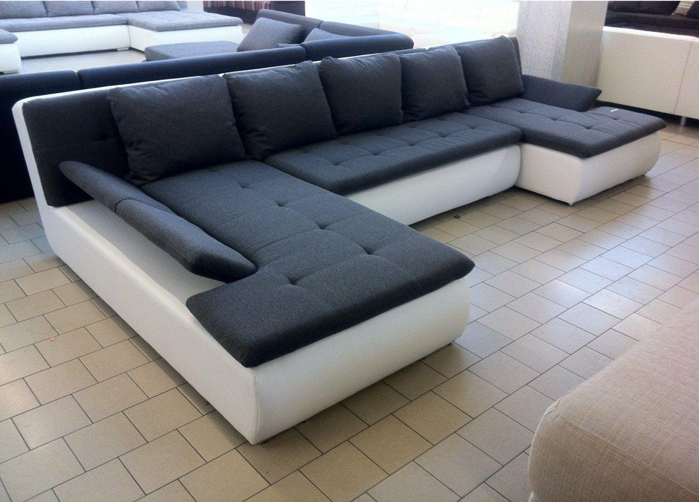 Ecksofa U Form Mit Schlaffunktion  Gerakaceh von Couch Mit Bettfunktion Günstig Bild
