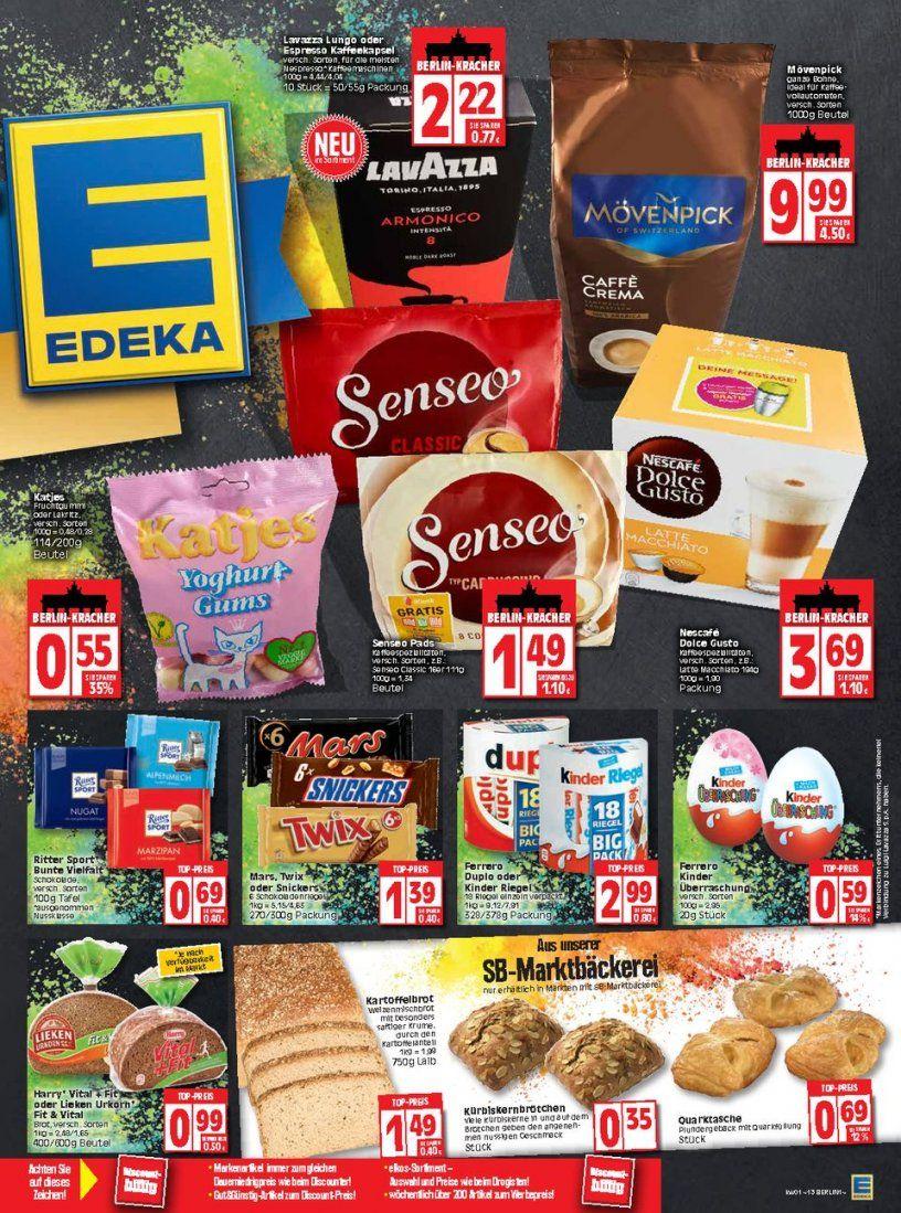 Edeka Prospekte  111 Jahre  Seite No 1316 Gültig Von 11 Bis von Senseo Pads Angebot Netto Photo