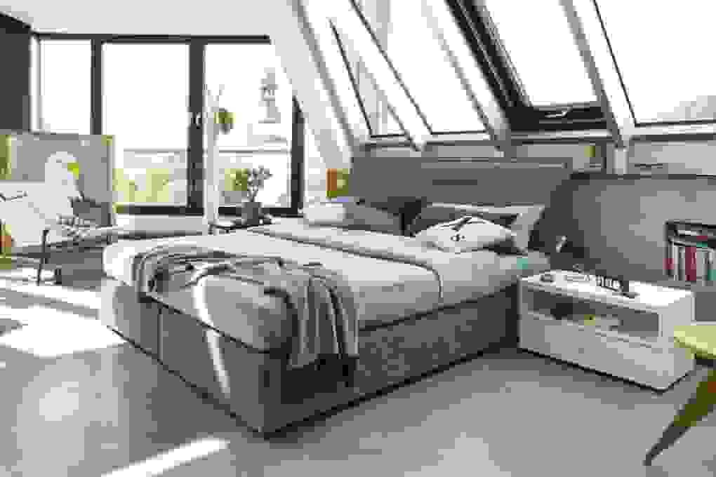 Een Slaapkamer Op Maat Van Uw Dromen von Hülsta Now Boxspringbett Bild