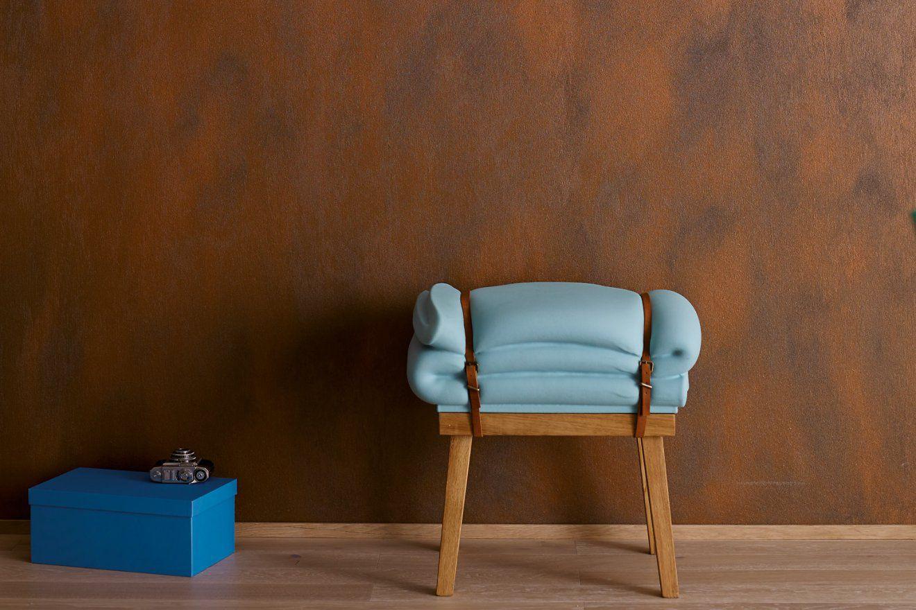 Effektfarbe Kreativ Wandfarbe Rost Alpina Farbrezepte Rostoptik von Wandfarbe Gold Farbe Wandgestaltung Bild