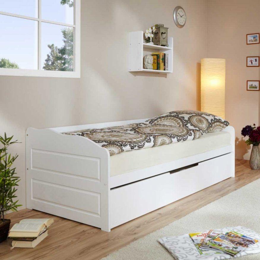Einzelbett Mit Unterbett Weiß Daredevz von Ikea Einzelbett Mit ...