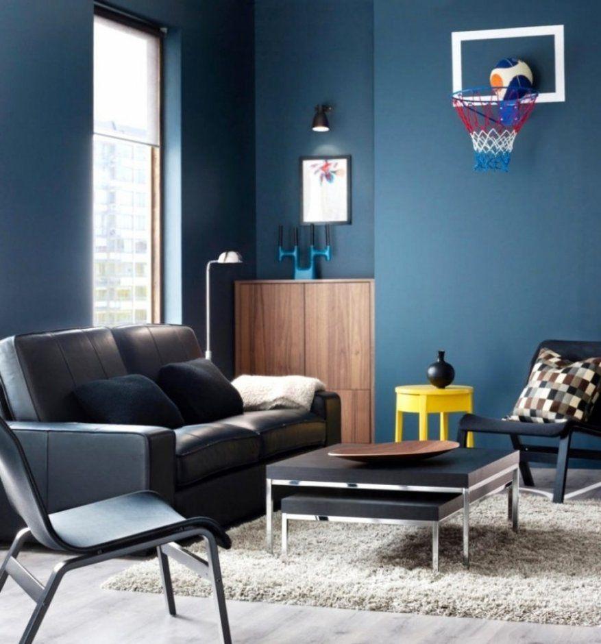 Wandfarben Zu Weißen Möbeln: Andere Innerhalb Wand Blaue Wandfarbe Graue Möbel Letztere