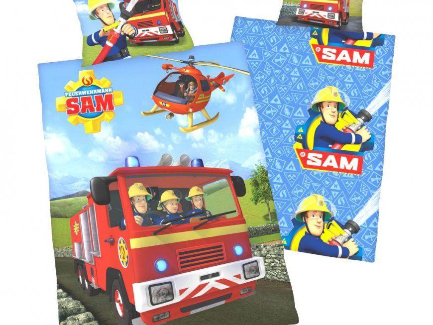 Ehrfürchtige Inspiration Bettwäsche Feuerwehrmann Sam Und Wunderbare