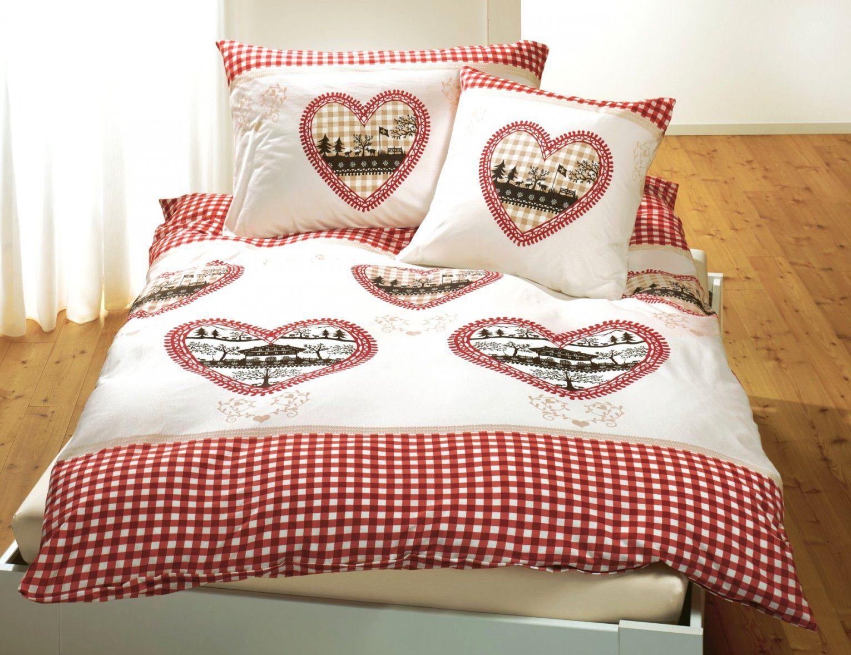 Ehrfürchtige Inspiration Bettwäsche Kariert Und Wunderbare Mit von Bettwäsche Rot Weiß Gepunktet Photo