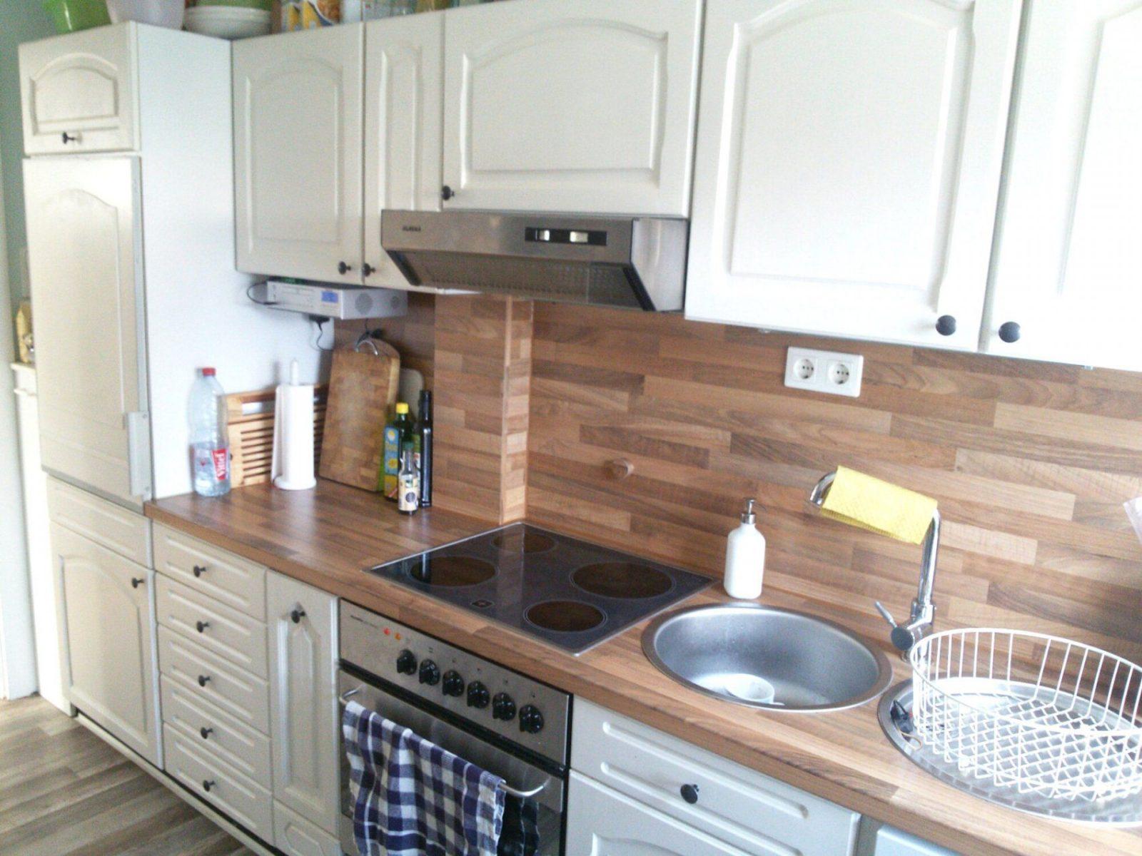 Ehrfürchtige Inspiration Küche Eiche Rustikal Weiß Streichen Und von Küche Eiche Rustikal Aufpeppen Bild