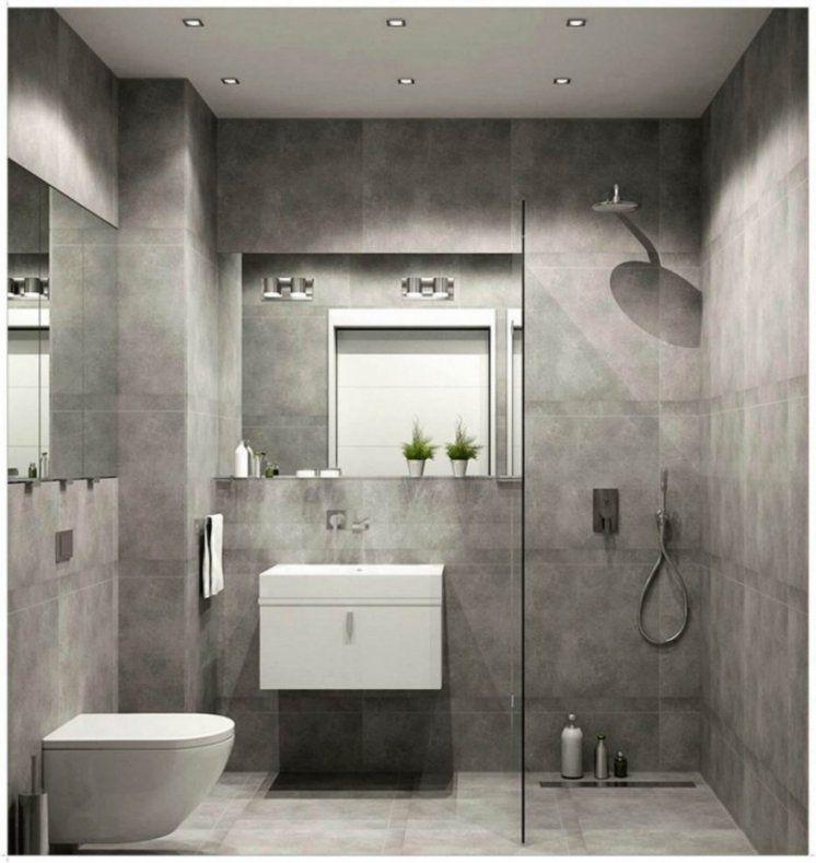 Ehrfürchtiges Moderne Dekoration  Grau Und Weis Kleine Badezimmer von Fliesen Ideen Für Kleines Bad Bild
