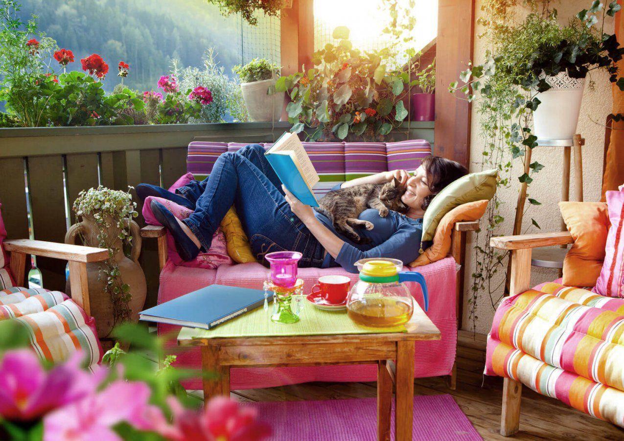 Ein Balkon Zum Wohlfühlen – So Gestalten Sie Ihren Balkon Wohnlich von Kleinen Balkon Gemütlich Gestalten Photo