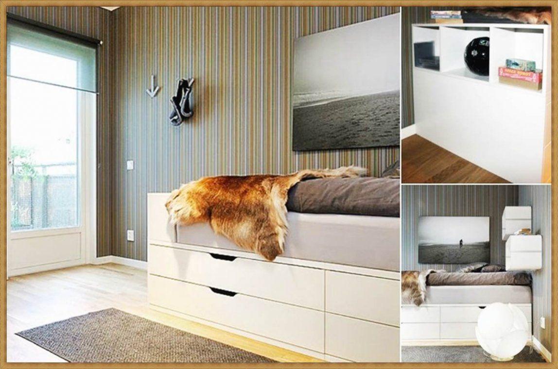 Ein Bett Selber Bauen Interesting Ein Bett Selber Bauen With Ein von Platzsparendes Bett Selber Bauen Bild