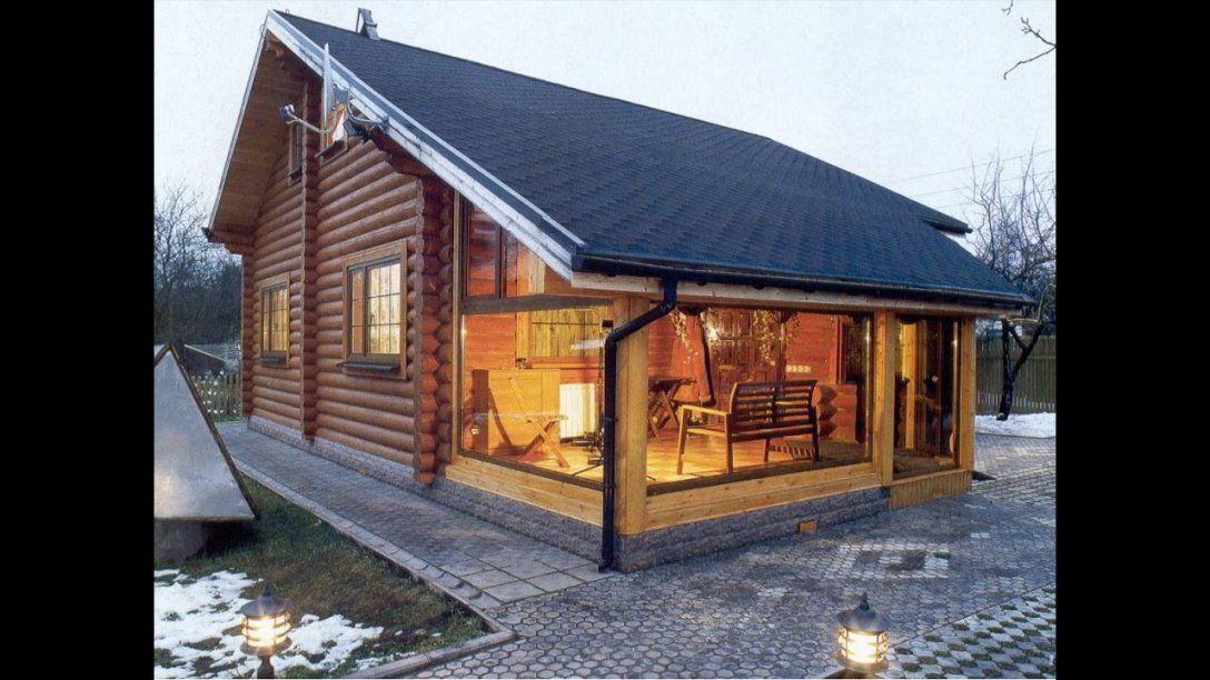 Ein Kleines Holzhaus Selber Bauen Aus Nur Holz Und Holzleim  Youtube von Holzhaus Zum Selber Bauen Photo