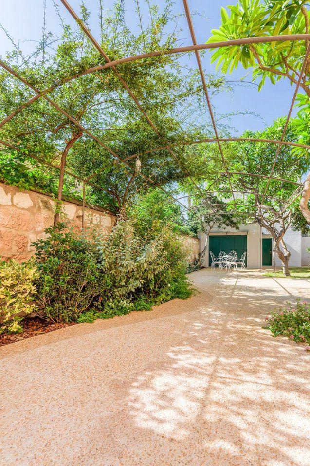 Ein Mediterraner Garten Und Wie Zwei Italiener Ihn Gestalteten von Mediterraner Garten Mit Kies Photo