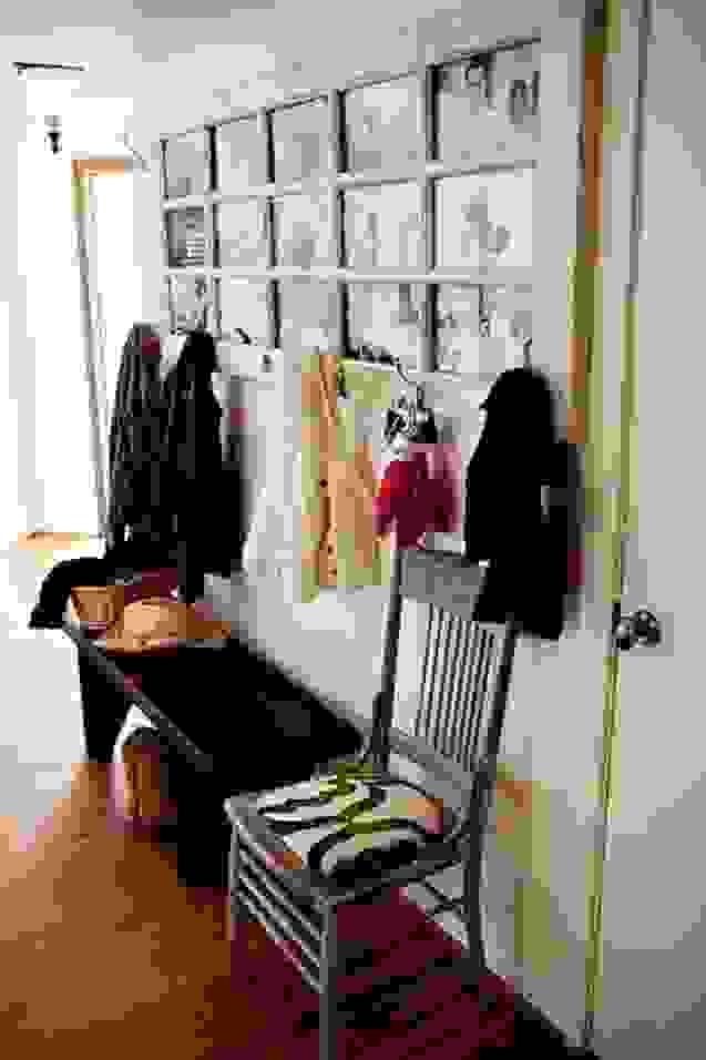 Eine Alte Tür Dient Nun Als Garderobe Tolle Idee Foto von Ideen Mit Alten Türen Photo