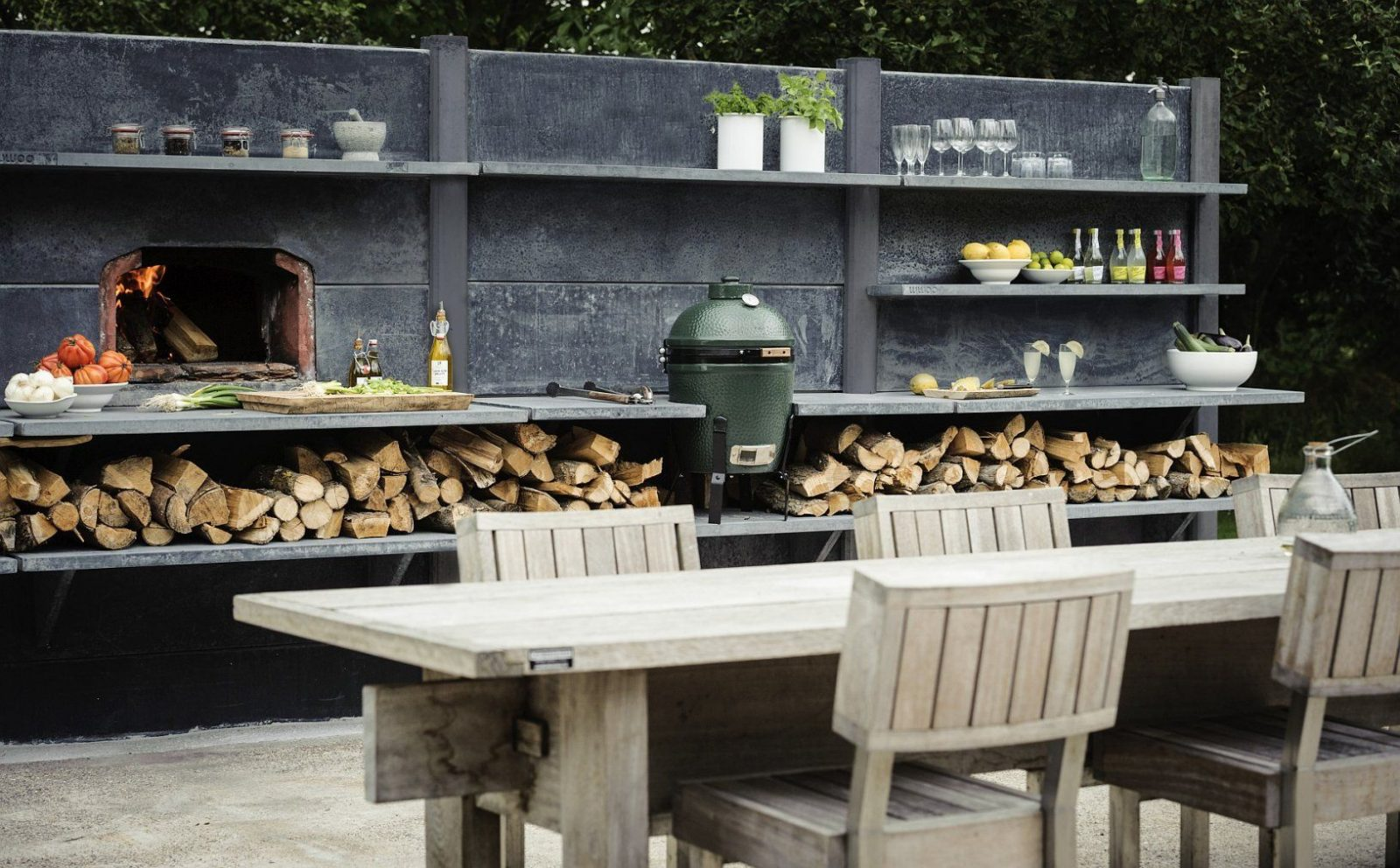 Eine Gartenküche Selber Bauen – Tipps von Outdoor Küche Selber Bauen Garten Photo