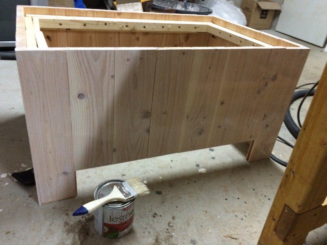 Einen Pflanzkübel Aus Douglasieholz Selber Bauen – Diy von Pflanzkübel Holz Selber Bauen Bild