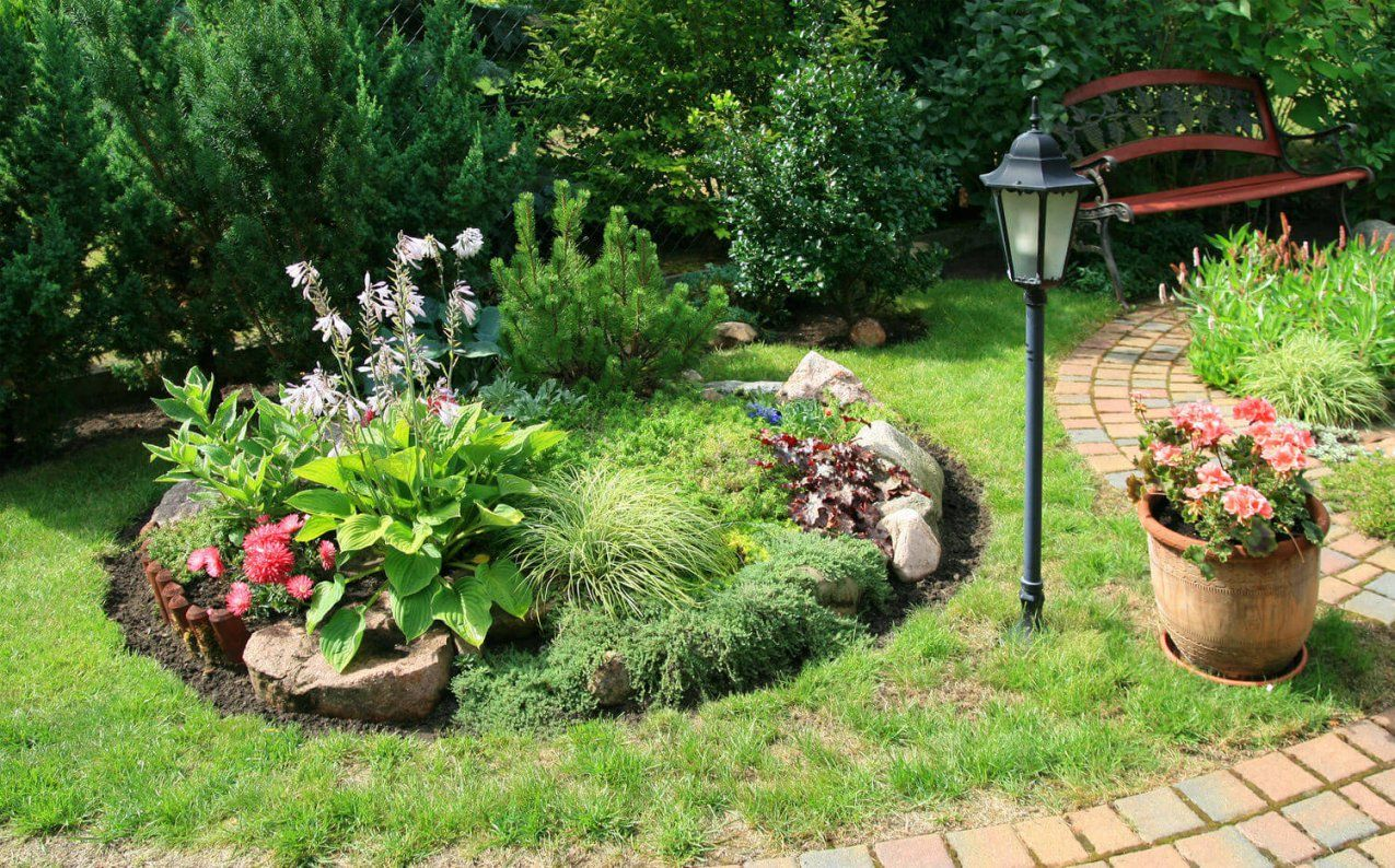 Einen Steingarten Gestalten So Gelingt Das Neue Highlight Im Garten von Garten Am Hang Selbst Anlegen Photo