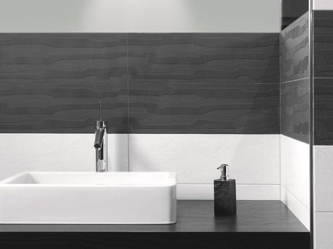 Einfach Badezimmer Anthrazit Weiß Fliesen In Inspiration Schön Grau von Bad Fliesen Anthrazit Weiß Photo