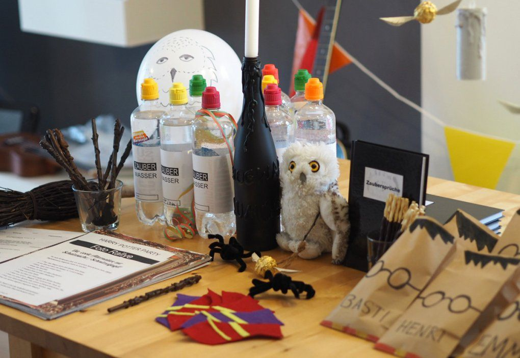 Einfache & Günstige Ideen Für Einen Harry Potter Kindergeburtstag von Harry Potter Deko Ideen Bild