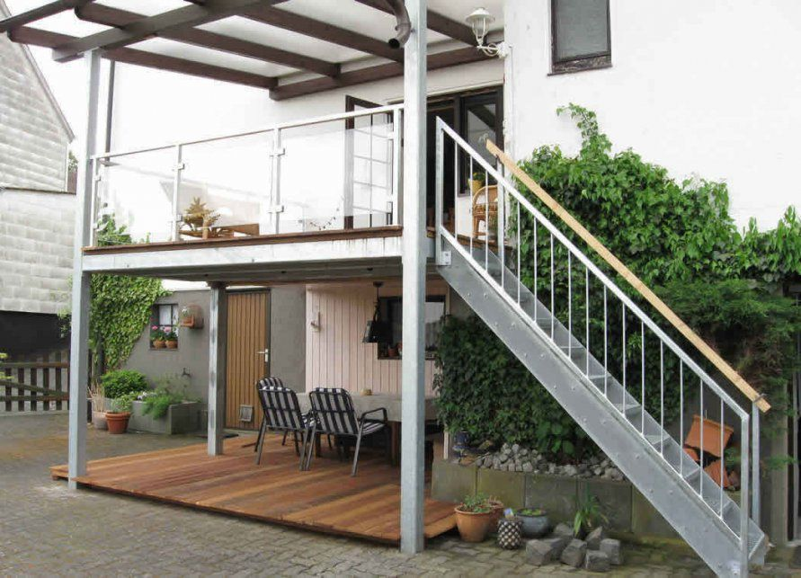 Eingangstreppe Selber Bauen Within Ausgezeichnet Treppe Hausdesign von Balkon Holz Selber Bauen Bild