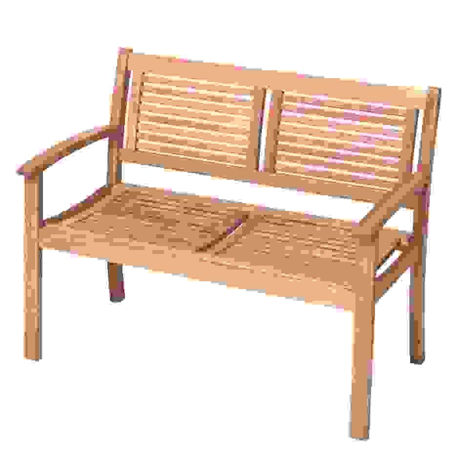 gartenbank kunststoff 2sitzer preisvergleich die besten angebote von gartenbank eukalyptus 2. Black Bedroom Furniture Sets. Home Design Ideas