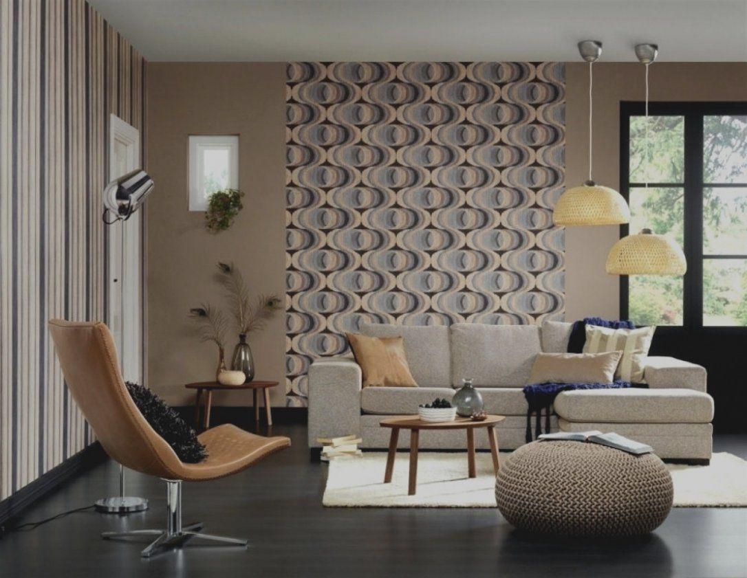 Einzigartig Von Wohnzimmer Tapeten Fein Ideen Grau Mit Glamourös von Wohnzimmer Gestalten Mit Tapeten Photo