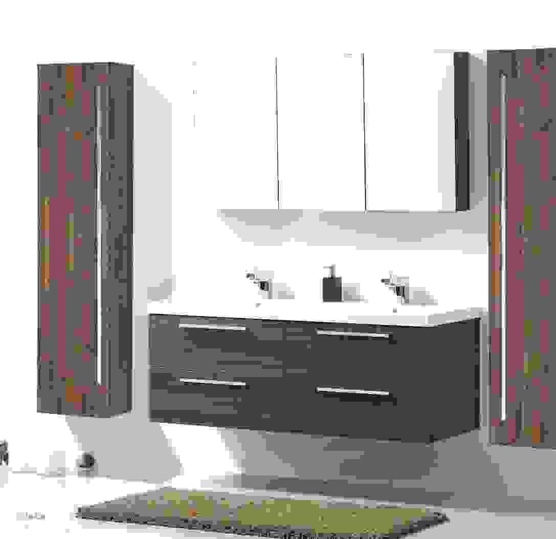 Einzigartige Badmöbel Mit Doppelwaschtisch Badezimmer Fantastisch von Doppelwaschtisch Mit Unterschrank Ikea Photo