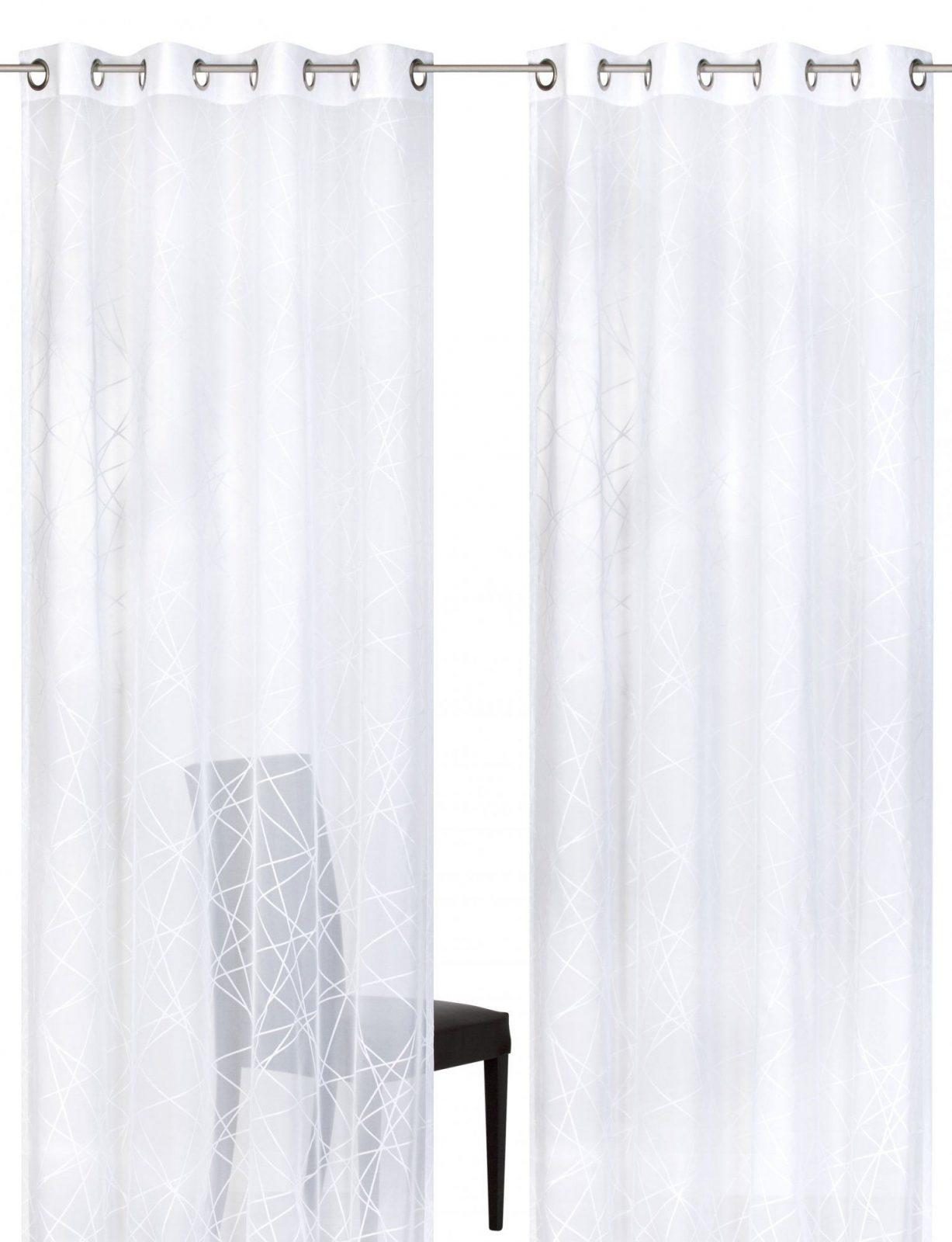 Elbersdrucke von Gardine Weiß Transparent Kräuselband Photo