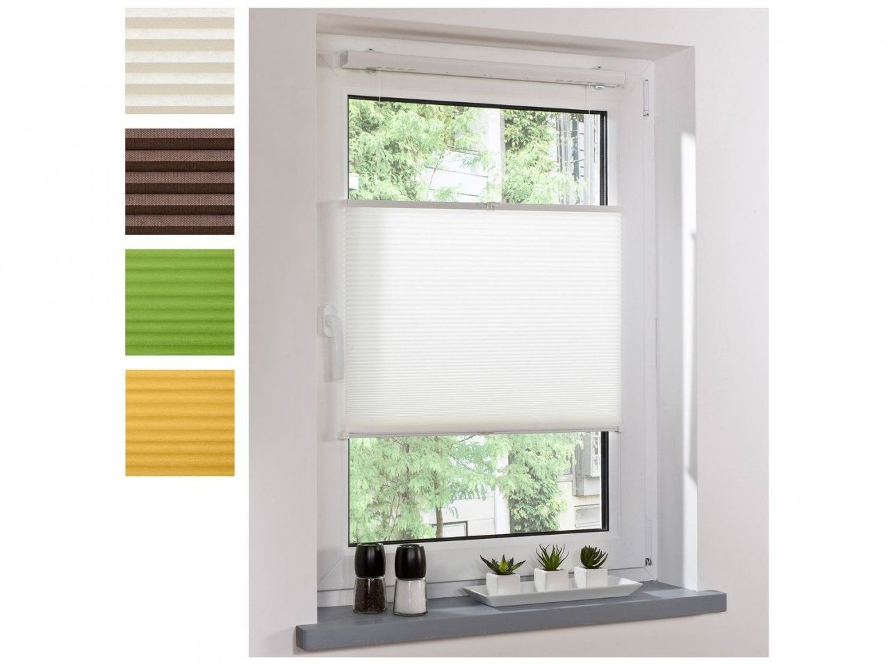 Elegant Fenster Jalousien Innen Ohne Bohren Bild Von