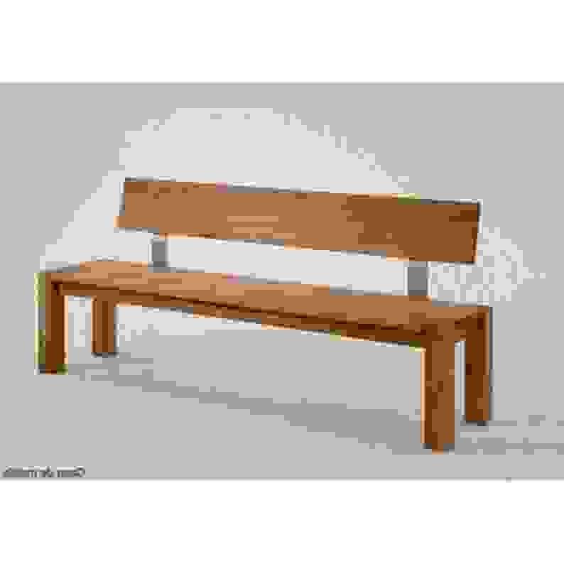 sitzbank fr drauen selber bauen awesome schlicht und edel die hohe rckenlehne bietet groen. Black Bedroom Furniture Sets. Home Design Ideas