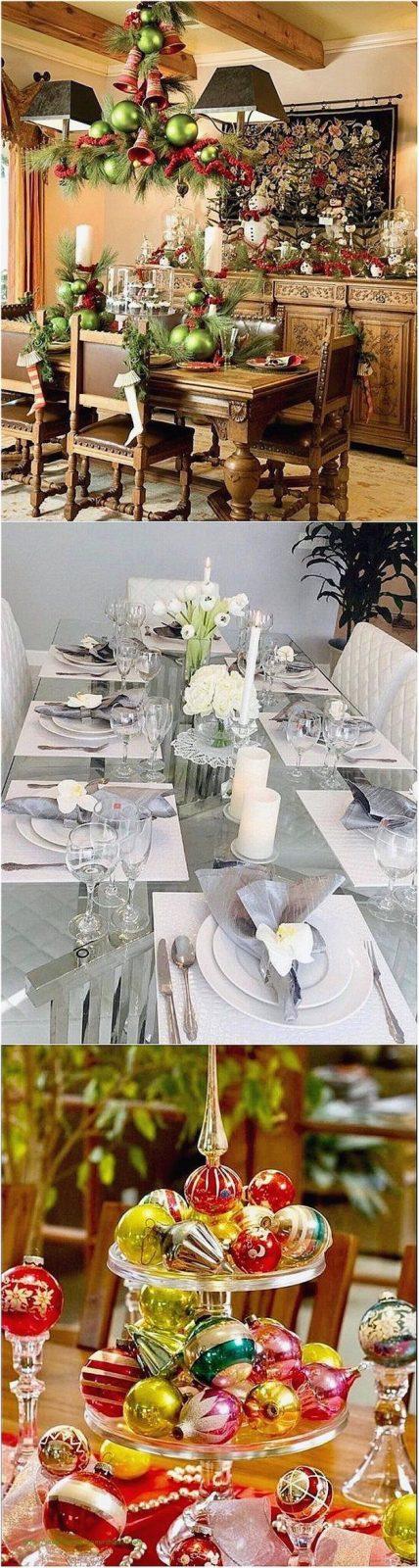 Elegant Tischdekoration Weihnachten Selber Basteln von Tischdekoration Weihnachten Selber Basteln Bild