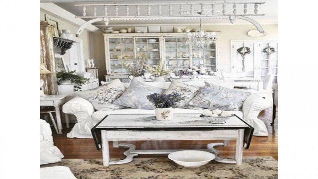 Elegant Wohnzimmer Ideen Shabby Chic  Wohnzimmer Deko  Pinterest von Deko Ideen Shabby Chic Bild