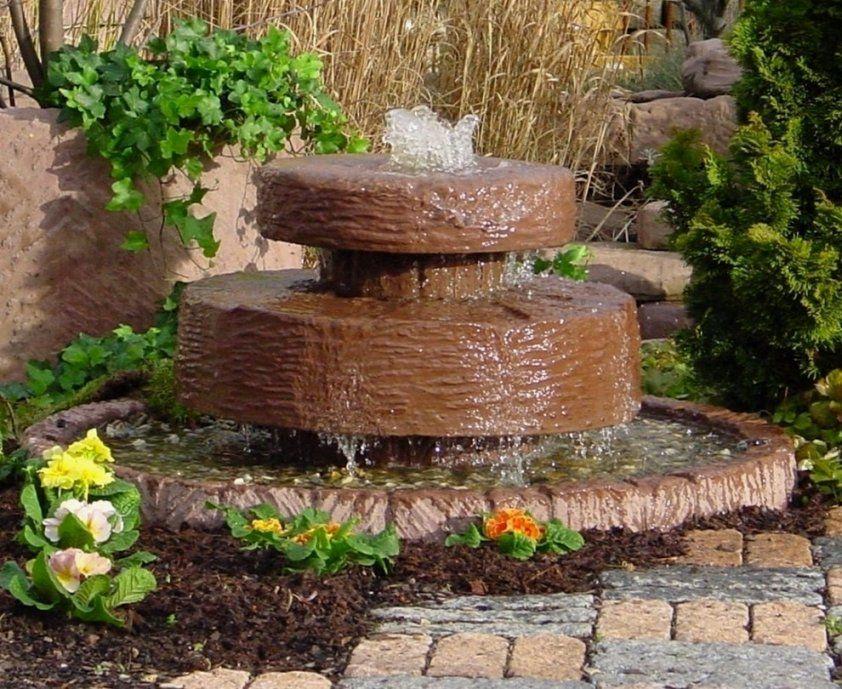 Elegante Brunnen Für Garten Selber Bauen Für Brunnen Im Garten von Brunnen Im Garten Kosten Bild
